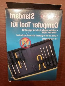 BELKIN 10 Pc. STANDARD COMPUTER TOOL KIT WITH CARRY CASE BRA