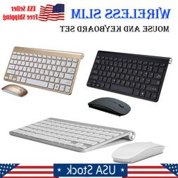 2.4G Mini Wireless Keyboard And Mouse Set For Mac Apple PC C
