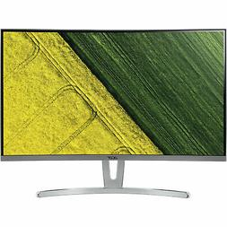 Acer 27-Inch Full HD 1080p LCD Curved Monitor w/ VGA, DVI &