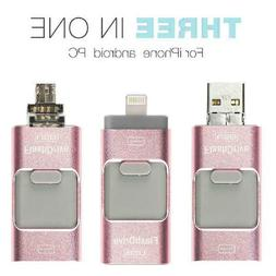 3 In 1 Usb Flash Drive For Apple Ios and Android and Compute