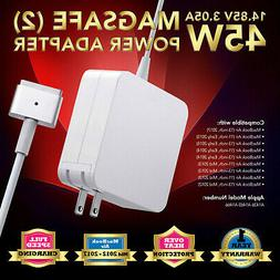 """45W MagSafe 2 Charger Power Adapter Cord for Apple  11"""" & 13"""
