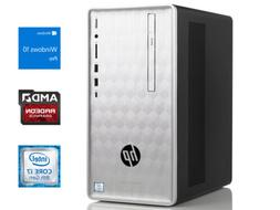 HP 590 SFF Desktop, i7-8700, 16GB RAM, 512GB SSD, Windows 10