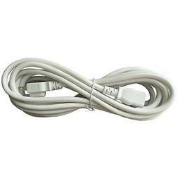 BYBON 15ft 14 AWG SJT Universal Power Cord for computer prin