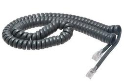 Cisco Handset Gray Curly Cord 12 Ft Uncoiled / 2 ft Coiled