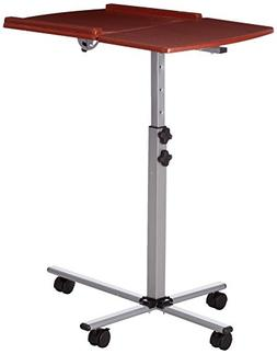 Flash Furniture Angle and Height Adjustable Mobile Laptop Co