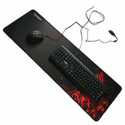 New Large Mouse Pad Extended Gaming XXL 900x300mm Big Size D