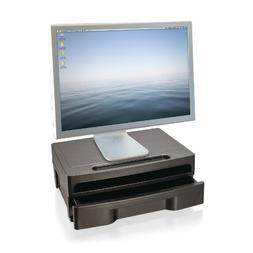 Officemate 2200 Series Executive Monitor Stand with Drawer,