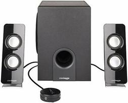 AmazonBasics AC Powered 2.1 30W Bluetooth Computer Speakers