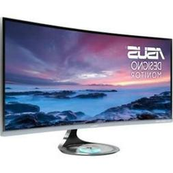 ASUS Computer Monitor 34 Inch LED 3440X1440 HDMI Eye Care De