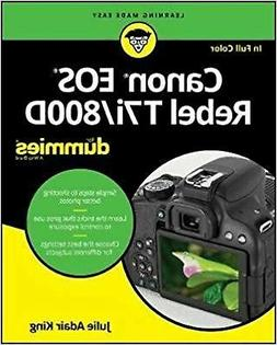 Canon EOS Rebel T7i/800D For Dummies )