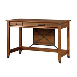 "Sauder 412924 Carson Forge Writing Desk L: 46.69"" x W: 23.47"