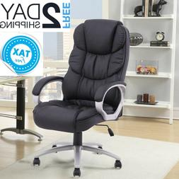 Comfy Desk Chair Home Office Lean Back Computer Long Hours B