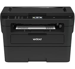Brother Compact Monochrome Laser Printer, HLL2395DW, Flatbed