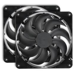 Rosewill 140mm Computer Case Cooling Fan with LP4 Adapter RN
