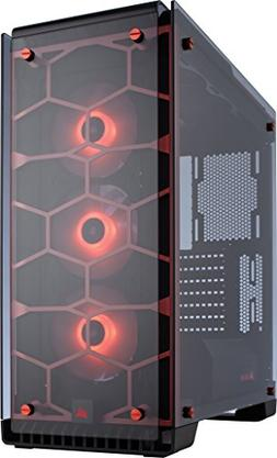 Corsair Crystal 570X RGB CC-9011111-WW Red Steel / Tempered
