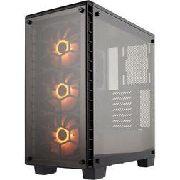 Corsair Crystal Series 460X RGB Compact ATX Mid-Tower Case -