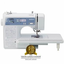 Embroidery Sewing Machine Brother Computerized Home White Po