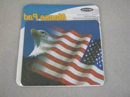 Belkin Flag & Eagle Computer Mouse Pad F8E080EAGLE