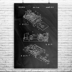 Floppy Disk Drive Poster Print Computer Science Engineer Gif