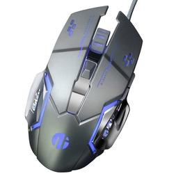 Gaming Mouse USB Wired, 6 Programmable Buttons for computer/