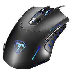 Gaming Mouse Wired, Pictek 6 Buttons Ergonomic Optical USB P