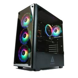 Gaming PC Desktop Computer Genesis Design i5 3.10ghz 2400, 8