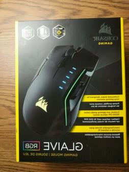 Corsair GLAIVE RGB Gaming Mouse New Sealed