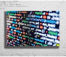 Hot Gift Poster Computer Programming Code Funny Science Tech