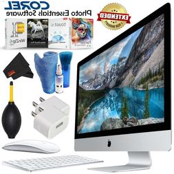 Apple iMac 27 Inch 5K Certified Refurbished MK472LL/A Bundle