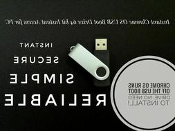 Instant Chrome OS USB Boot Drive 64 Bit Boot off any Windows