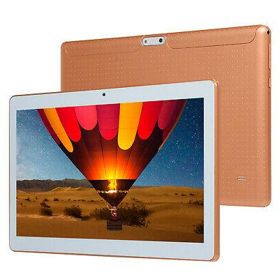 10.1 HD Tablet Computer Core Android 8.0 GPS Wifi