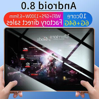 10.1 Game Tablet Computer Core GPS Wifi Dual