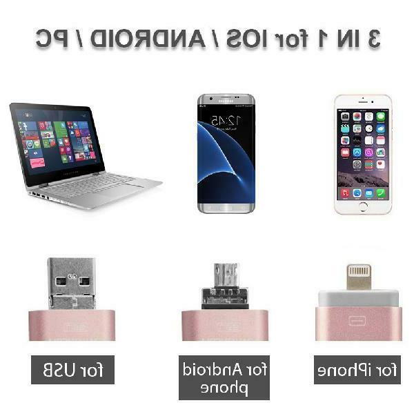 3 1 Usb Flash For Ios and