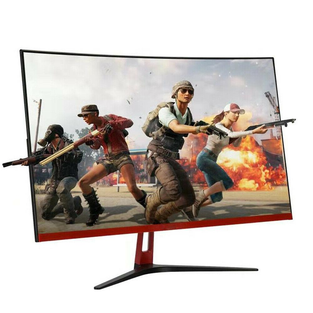32 Curved Monitor Competition MVA Display Screen