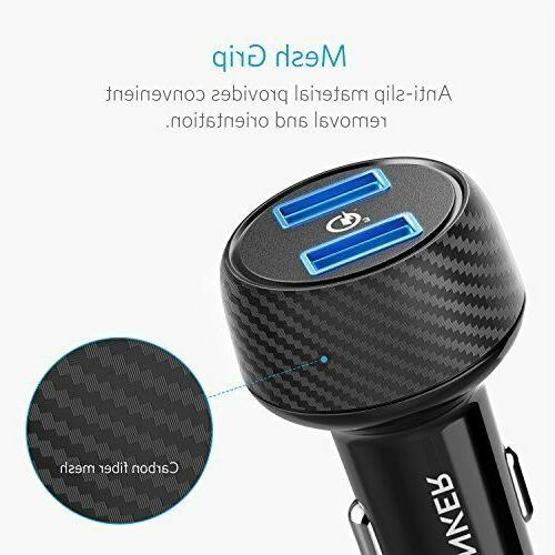 Anker 39W Car Charger Quick Charge 2