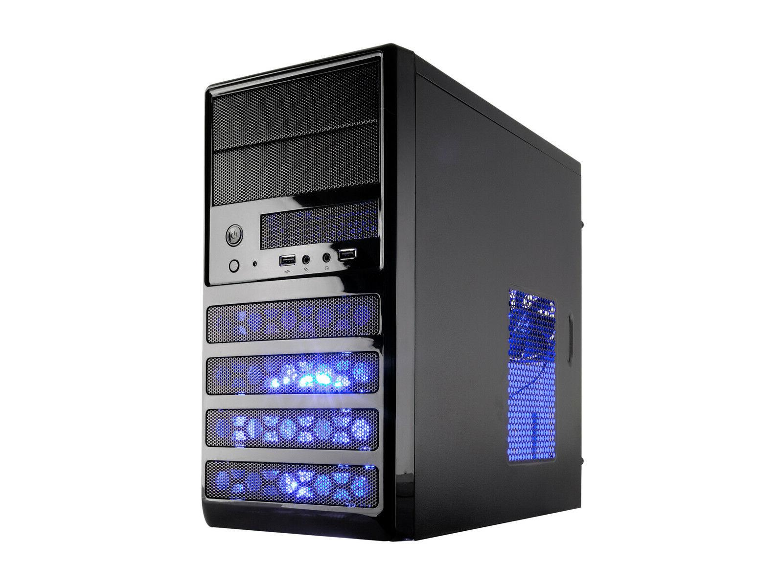 Rosewill Dual Fans MicroATX Mini Tower Computer Case with US
