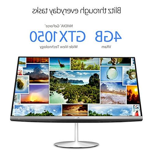 """ZN242GD-DS751T Desktop PC with 23.8"""" Full Touchscreen, 8th Core Processor 8GB RAM, M.2 SSD HDD, Icicle 10"""