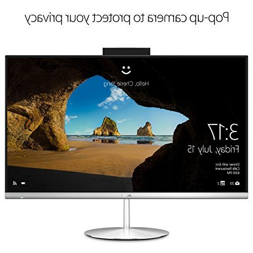 ZN242GD-DS751T All-in-One Desktop with Touchscreen, 8th Gen Core 8GB M.2 + HDD, 10
