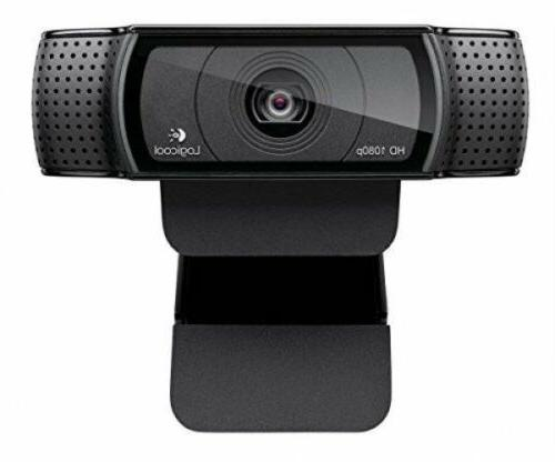 Logitech C920R Cam PC 1080P Black