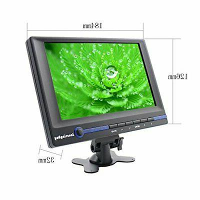 Car Monitor, Sourcingbay Inch HD LCD Monitor Built-in Speaker