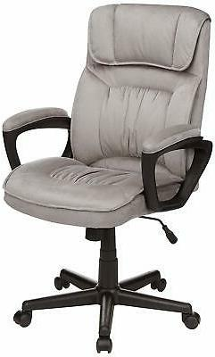 AmazonBasics Classic Office Desk Computer Chair - Adjustable
