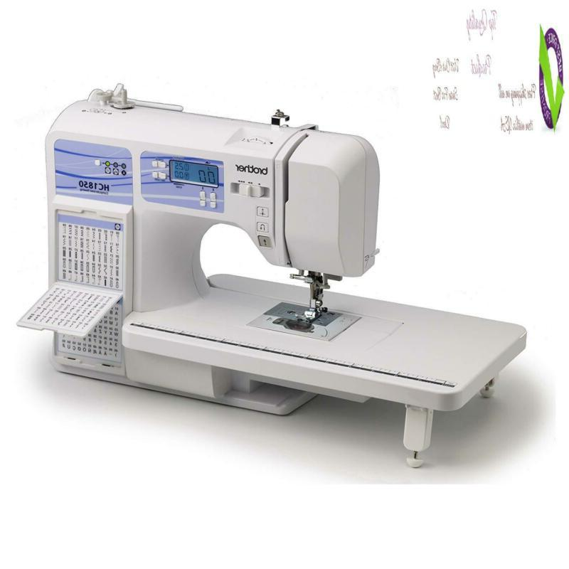 Brother Quilting Hine, Hc1850, Built-In Stitches,
