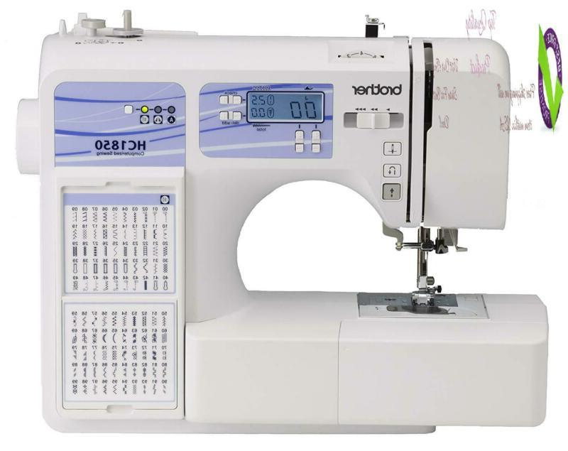 computerized sewing and quilting hine hc1850 130
