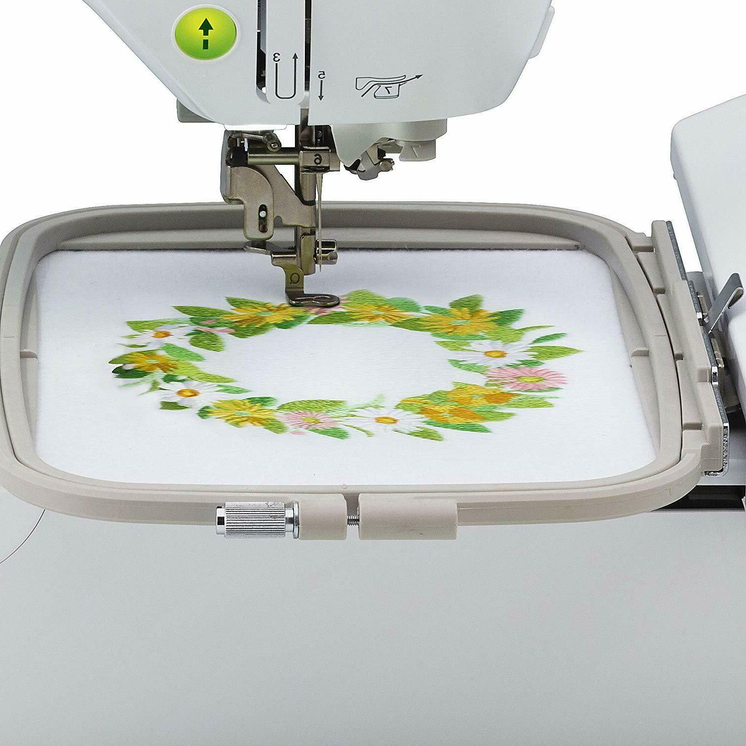 "Brother Embroidery Machine, PE800 5"" Color Touch new!!!!"