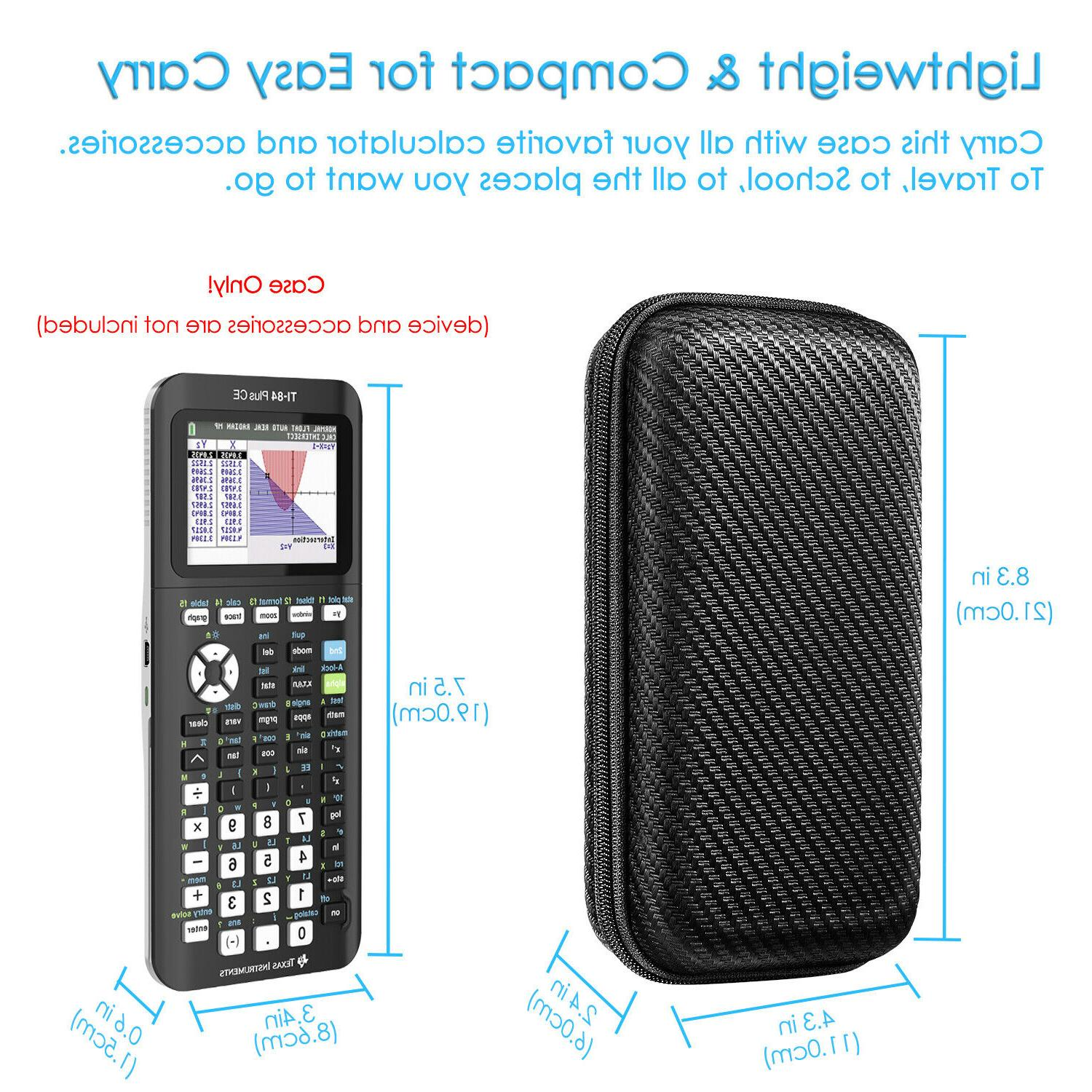 Graphing Calculator Hard Case Instruments