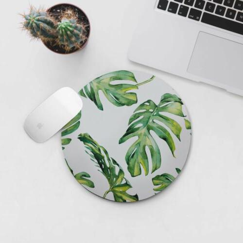 leaves mousepad computer accessories office desk pad