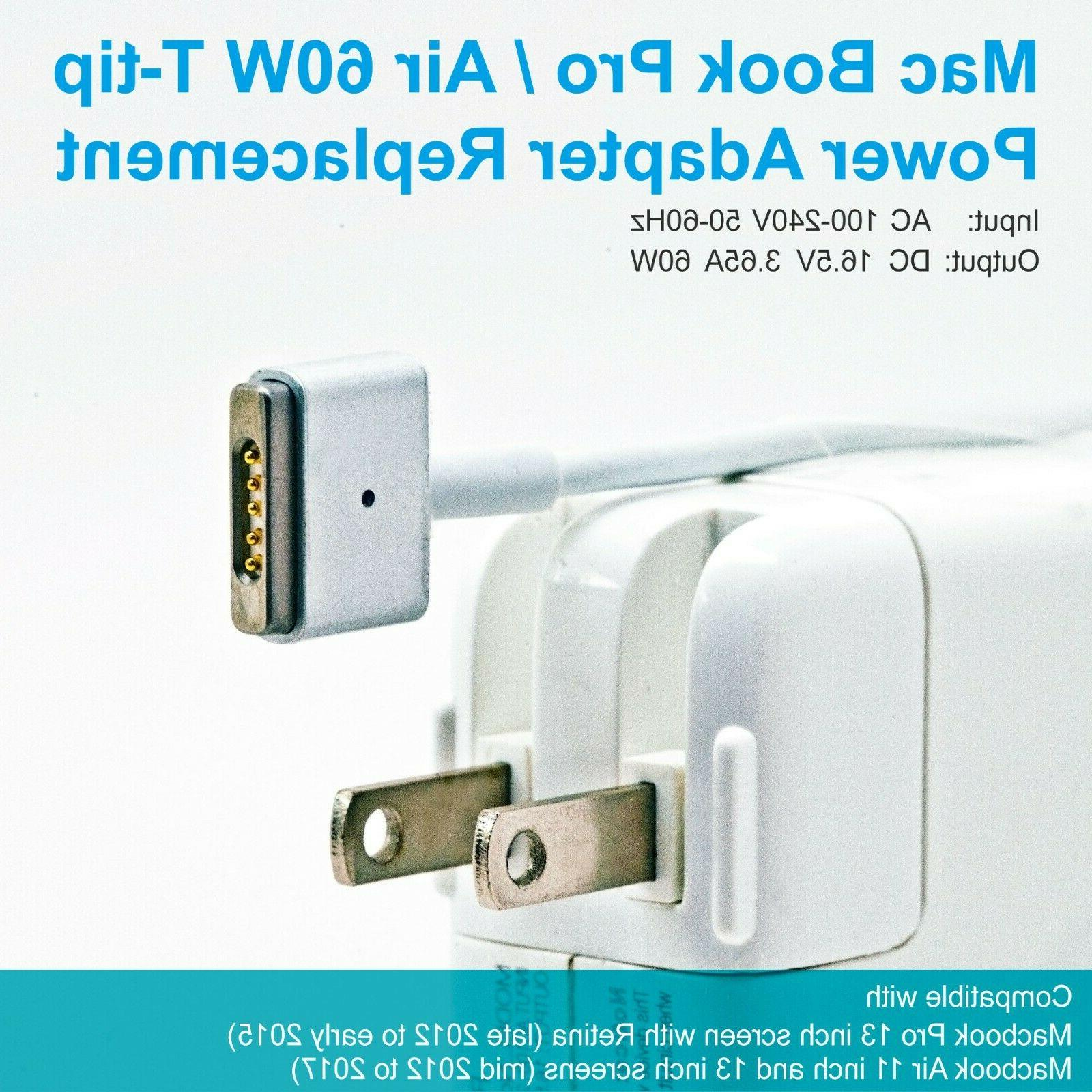 MacBook Charger Replacement for 2012 to early 2015