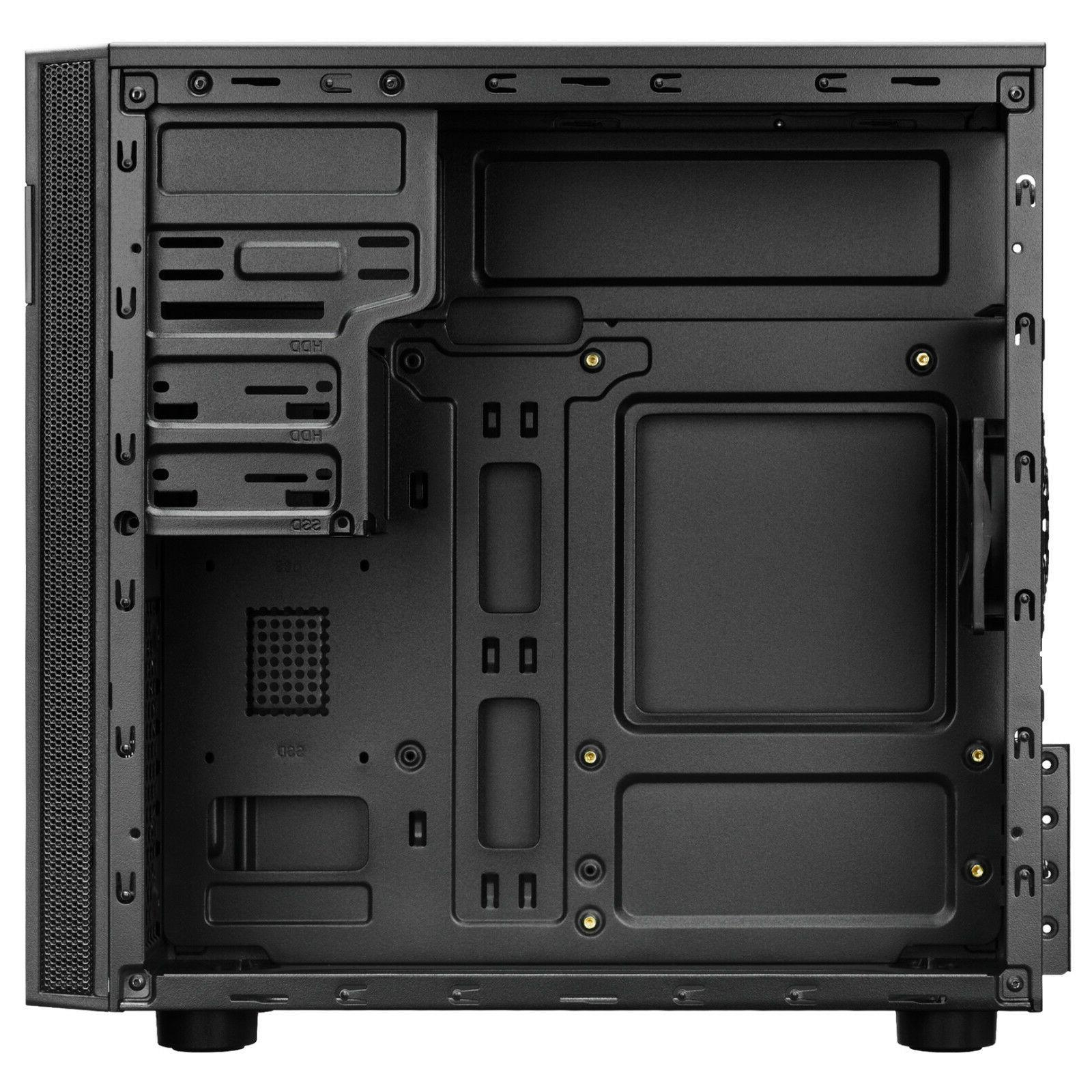 Micro Case, Mini Tower Office PC with 80mm