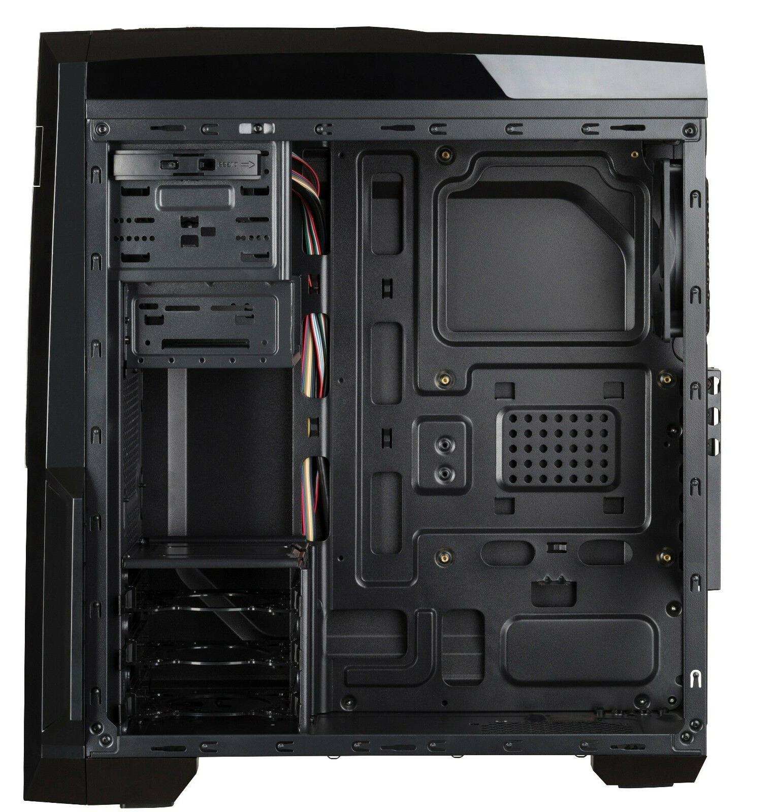 NAUTILUS ATX Computer Case, Supports to 380 mm long VGA Card, Pre-installed