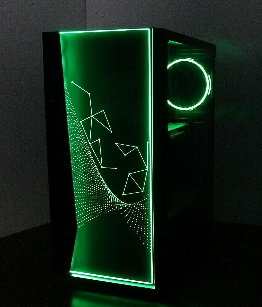 NEW RGB Gaming PC Computer 4.2 GHz 500 RAM WIN